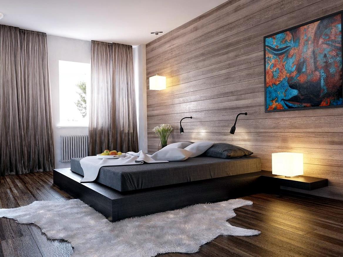 Отделка спальных комнат фото