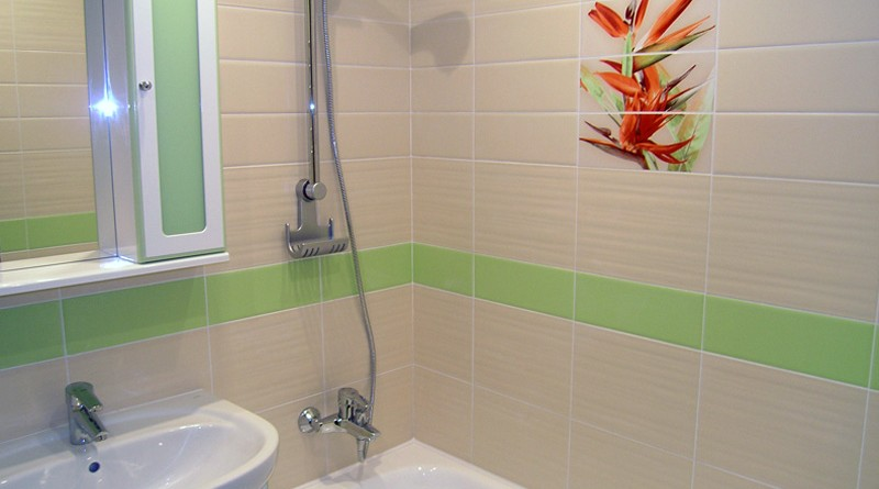 Простой ремонт в ванной комнате своими руками 52