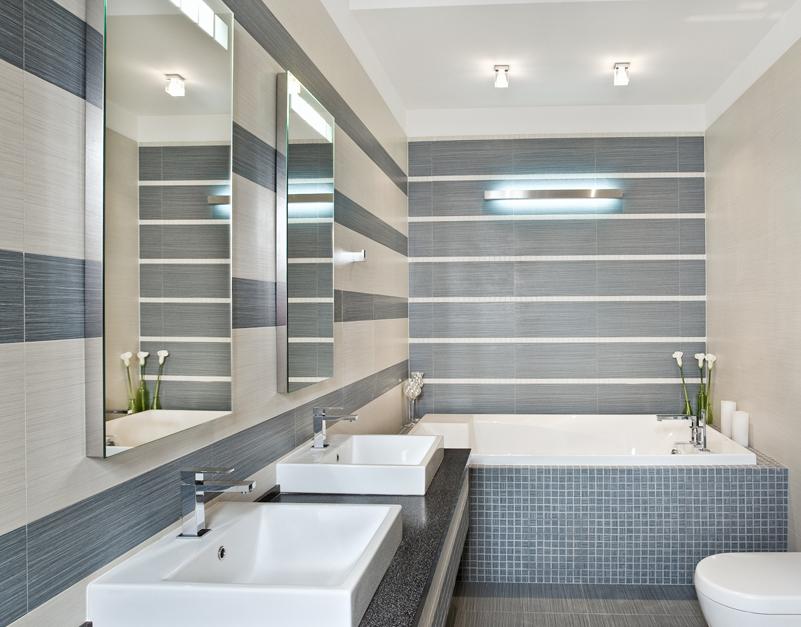 Размер ванной комнаты стандарт, какие бывают и от чего зависят