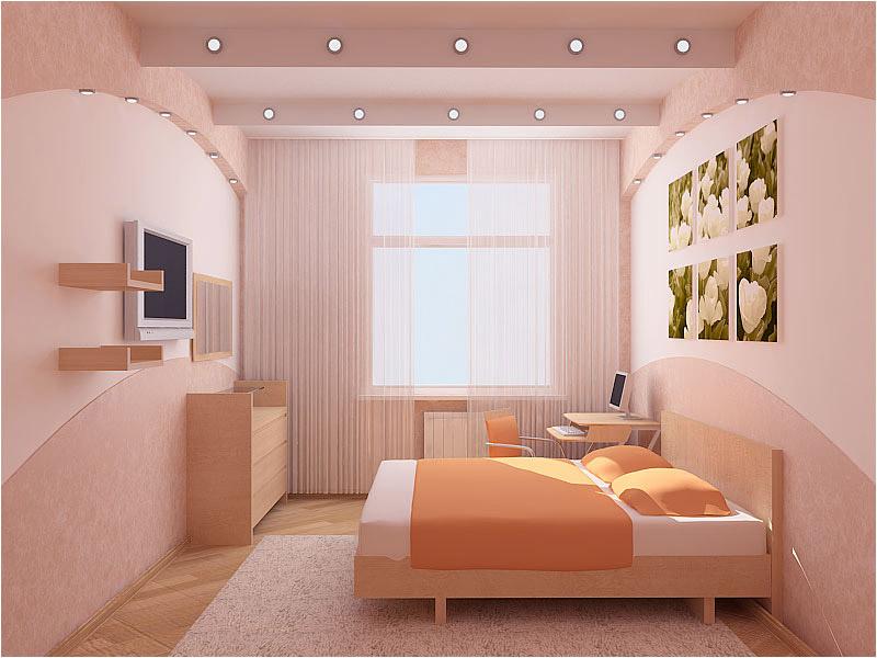 Дизайны маленьких спальных комнат