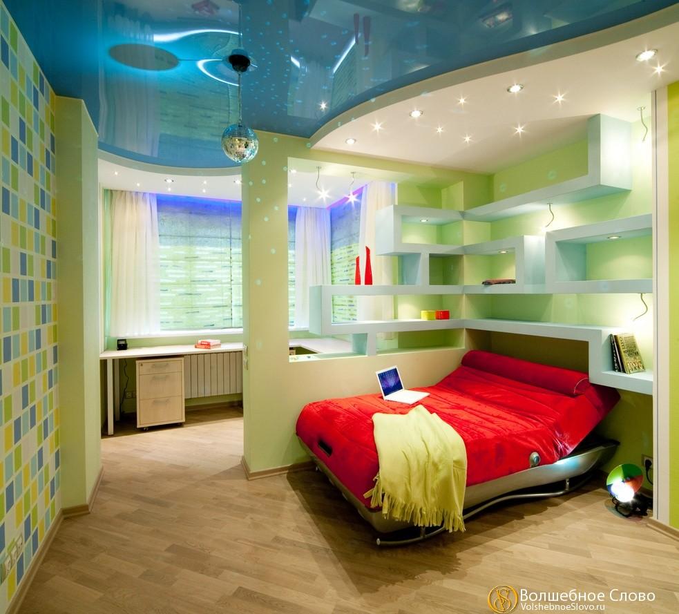 Перегородка в детской комнате фото