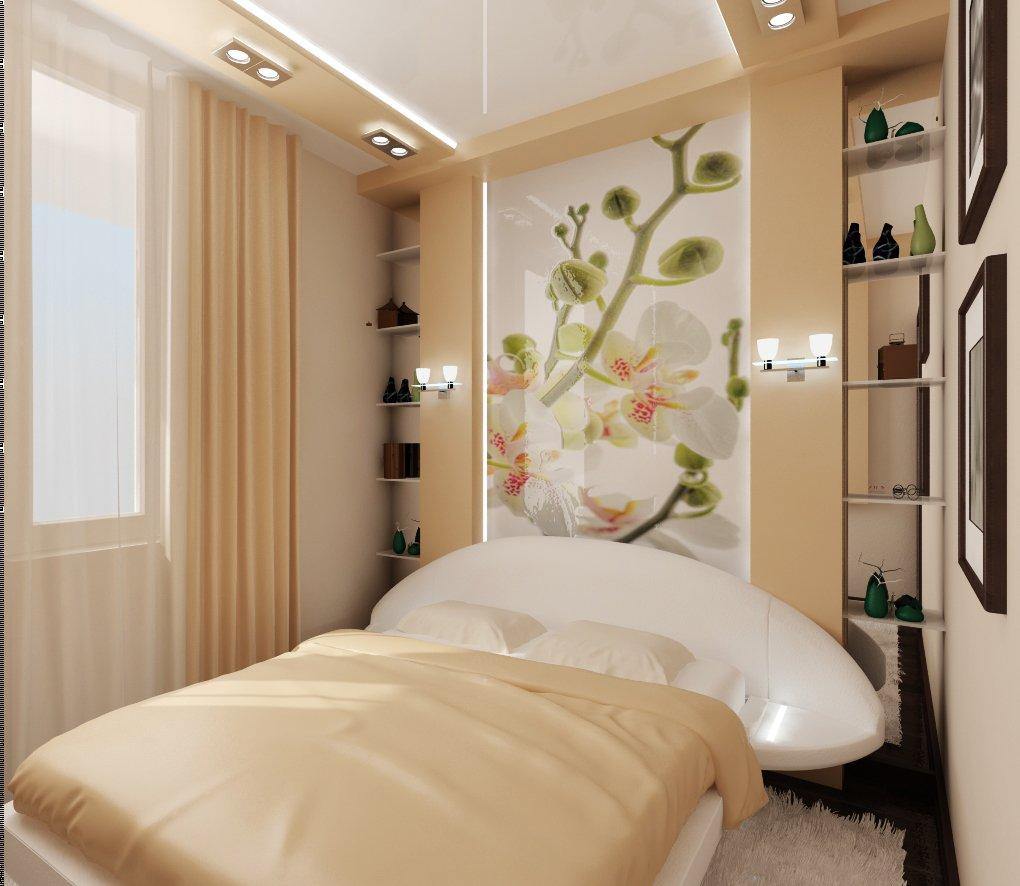Дизайн очень маленькой спальни фото