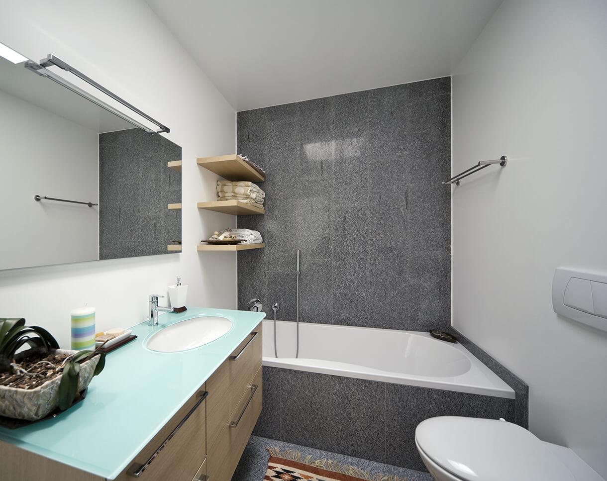 Типовая ванная комната фото