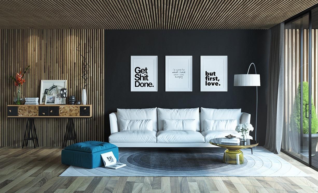 Современные тенденции в дизайне интерьеров