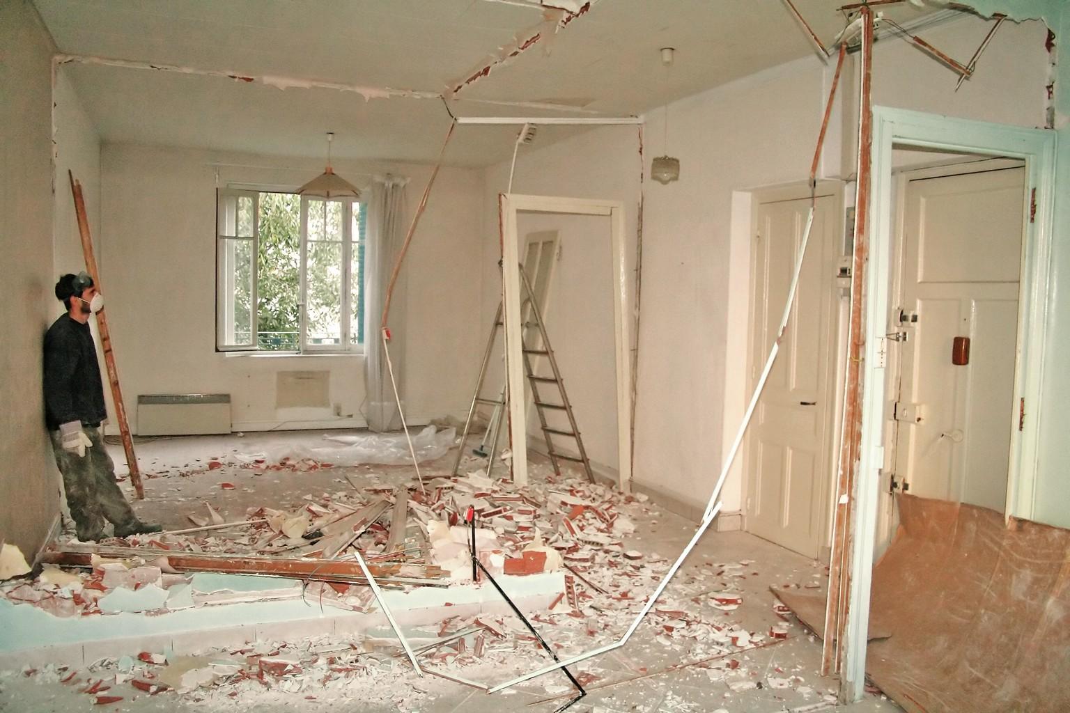 С чего начать ремонт стен ремонт квартир фото.