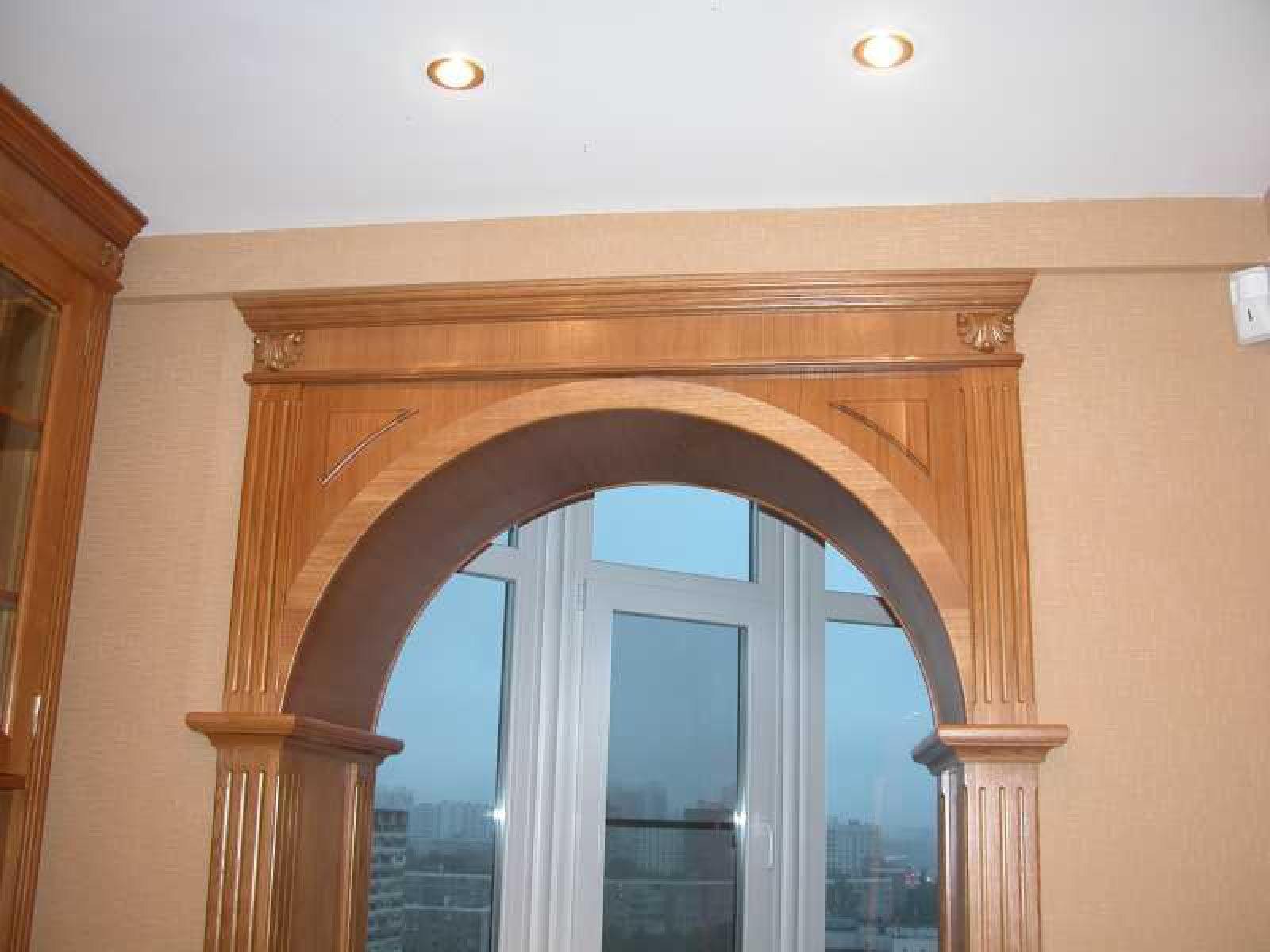 Дверные арки фото своими руками