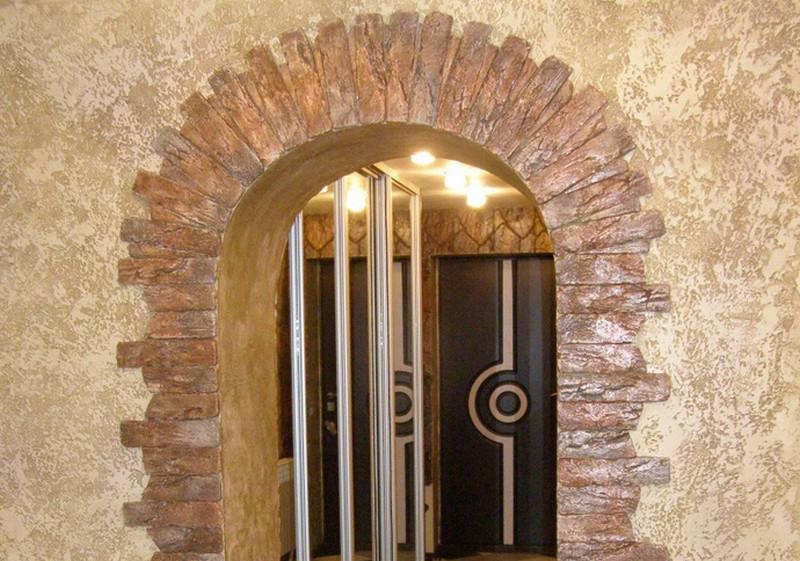 Декоративная отделка арок фото
