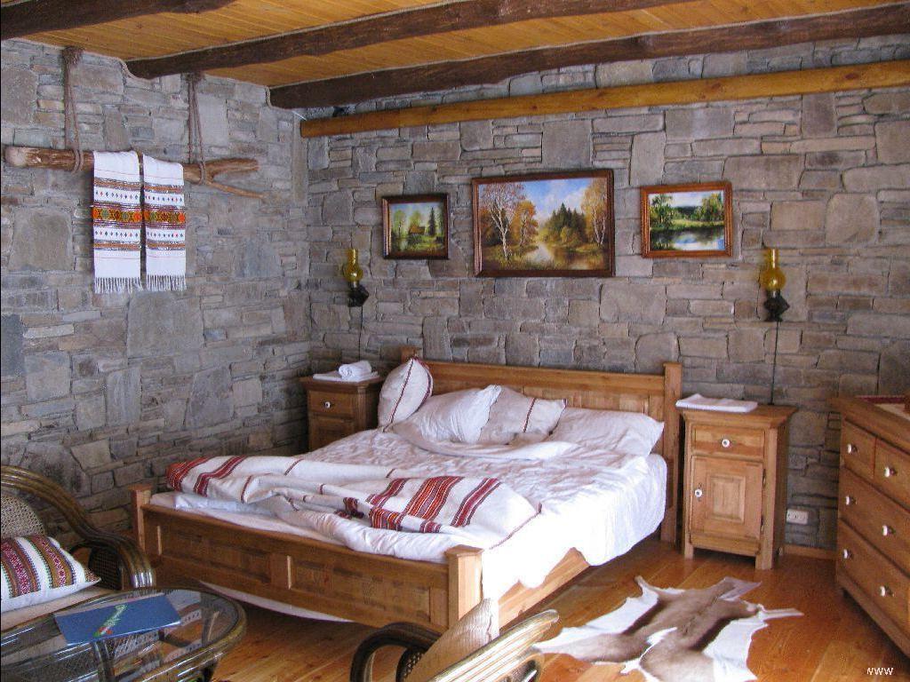 Внутренний интерьер дачного домика фото
