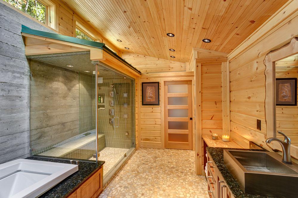 Как сделать комнату в деревянном доме своими руками видео