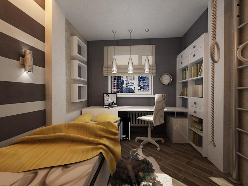 Дизайн спальни для парня фото