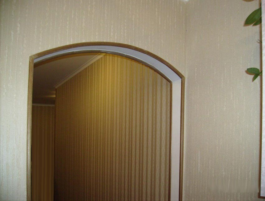Чем отделать арку своими руками в квартире фото