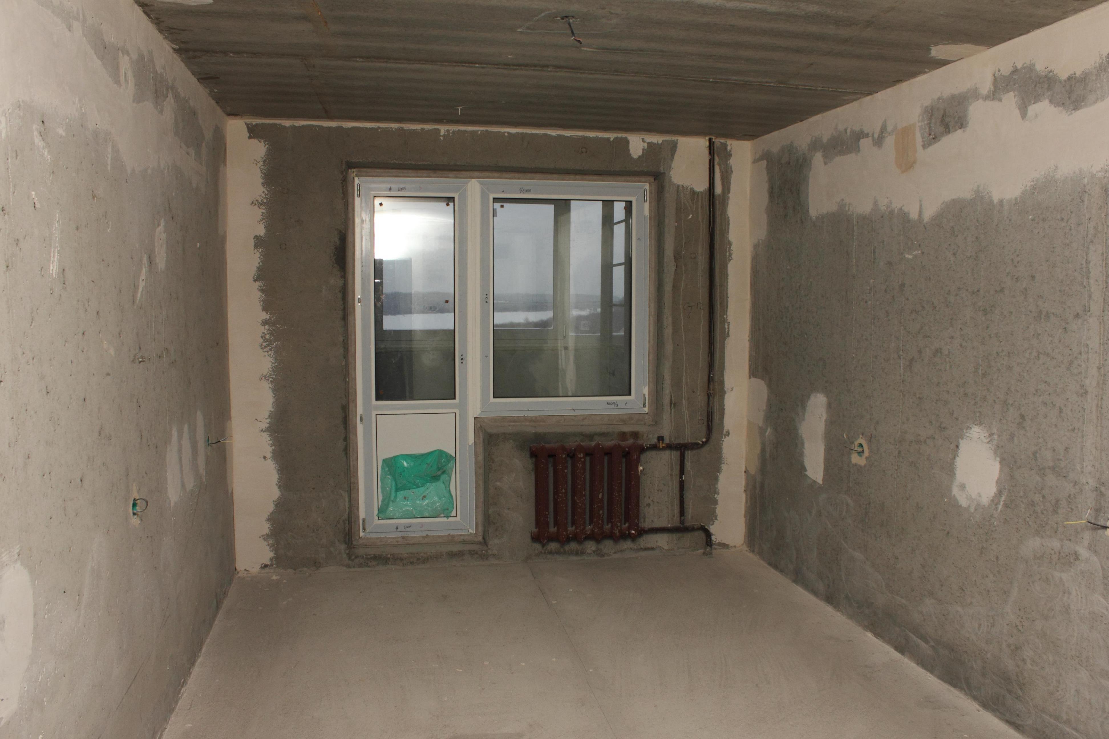 Квартира с черновой отделкой фото