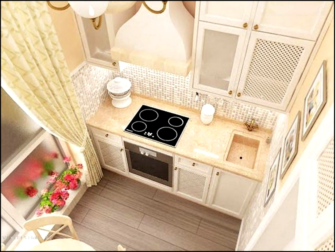 Кухня 4 кв метра дизайн