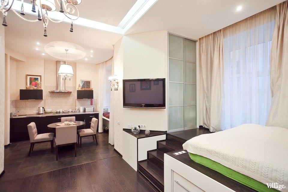 Красивые квартиры-студии дизайн