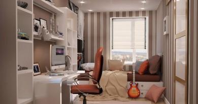 Дизайн спальни молодых