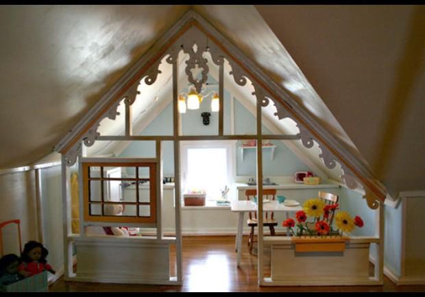 Как отделать мансарду внутри деревянного дома своими руками Ремонт квартир фото