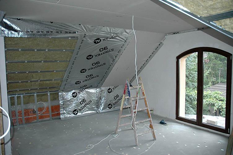 Своими руками мансардный потолок из гипсокартона
