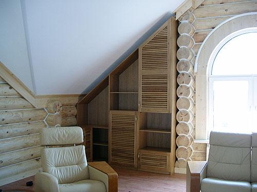 Мебель для мансарды своими руками фото