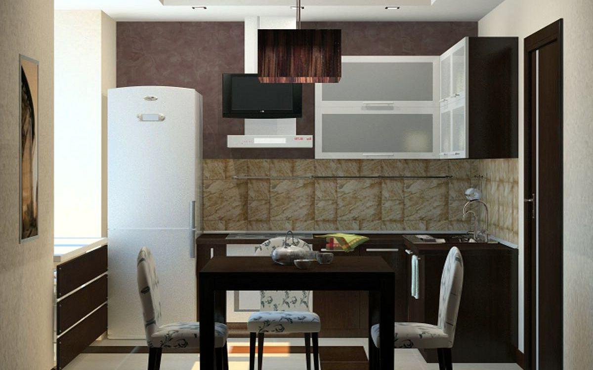 Интерьеры кухонь небольших размеров