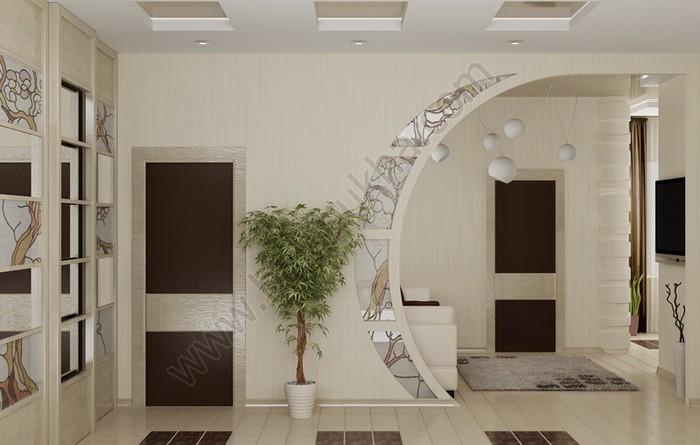 арки фото из гипсокартона