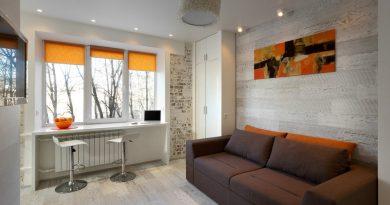 интерьер однокомнатной квартиры 35 кв м в фотографиях