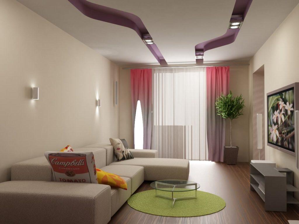 Дизайн квартир гостиная 18 квм