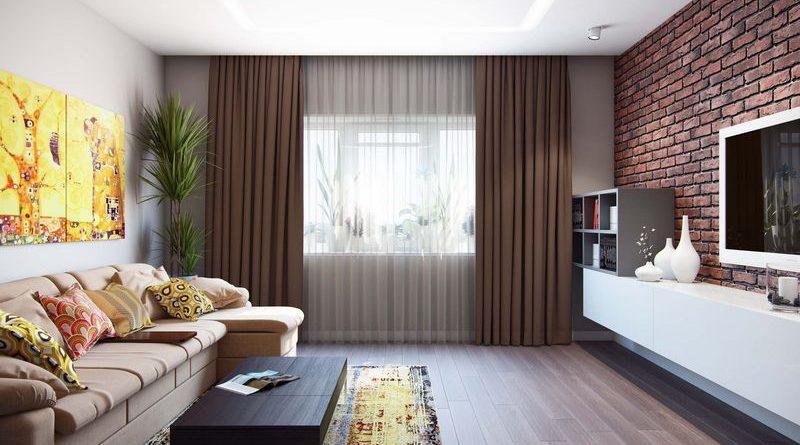 дизайн комнаты 18 кв м гостиной фото