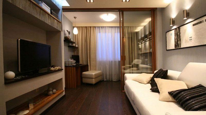 интерьер зала 18 кв м фото в квартире бюджетный вариант