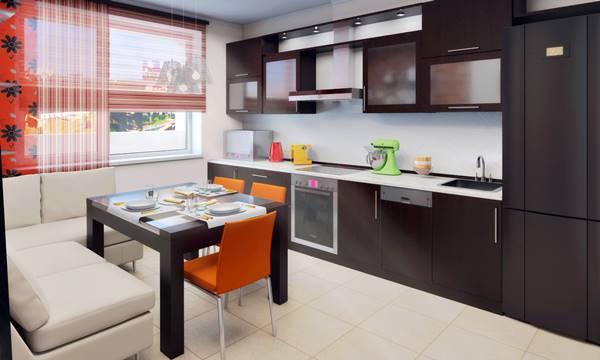 Дизайн кухни 2017-2018 9м2