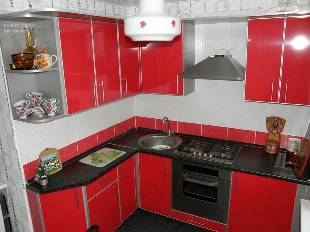 Дизайн угловой кухни 2 на 2