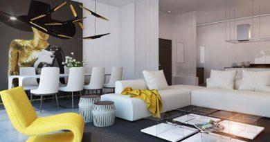 дизайн зала в квартире фото 2017 современные идеи