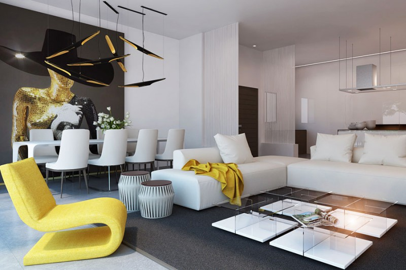 Дизайн квартиры однушек 2017 современные идеи