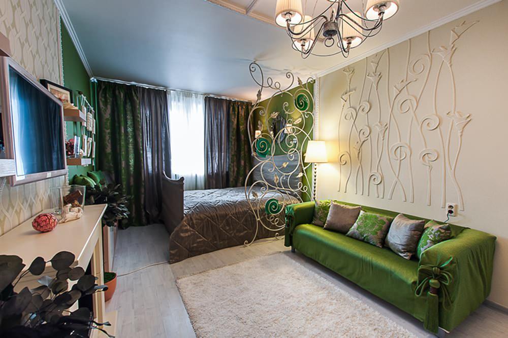 Ремонт и дизайн комнаты гостиная спальня школа ремонта