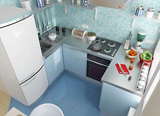 Интерьеры маленьких кухонь фото 6 м кв