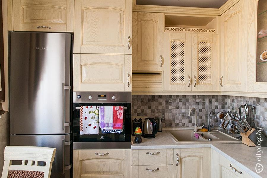 Дизайн классической кухни 9 квм