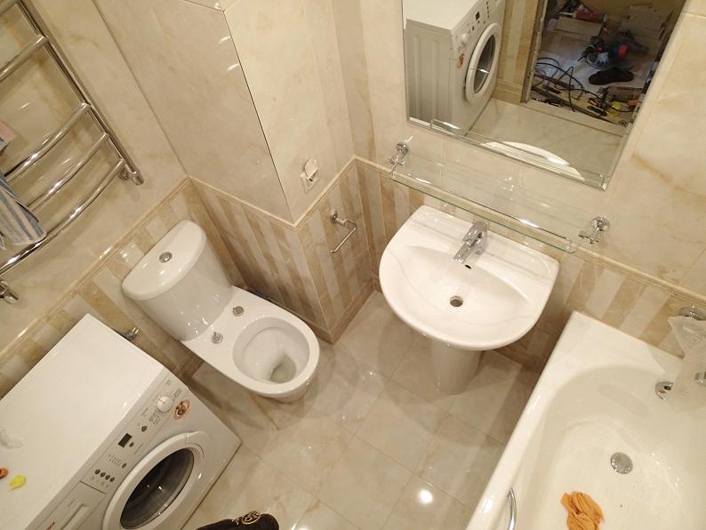Дизайн ванной комнаты 6 кв м с туалетом и стиральной машиной