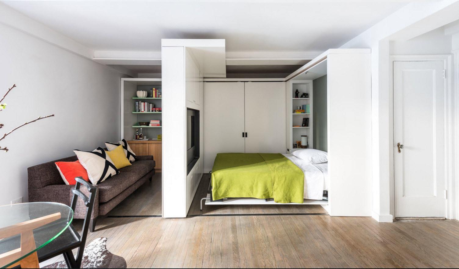 Интерьер однокомнатной квартиры как сделать две