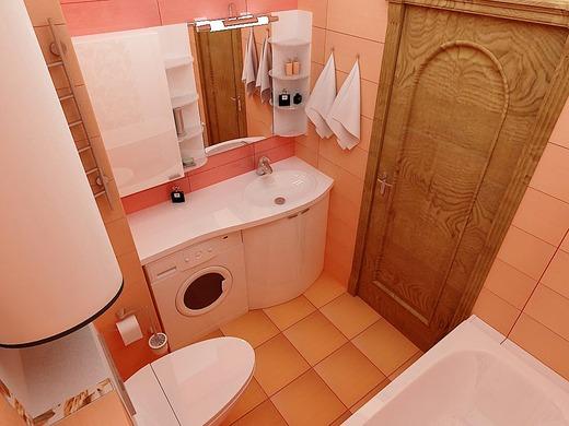 ванные комнаты дизайн фото 4 кв м со стиральной машиной