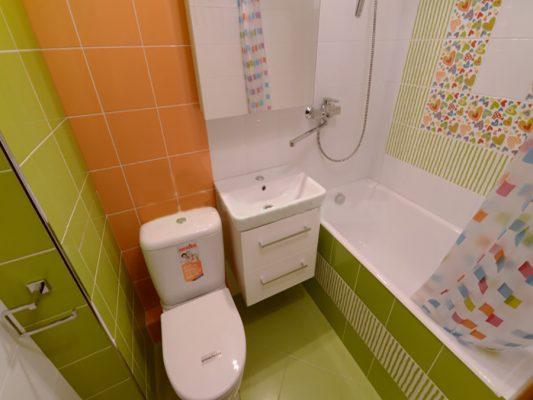 Дизайн ванных комнат в маленькой квартире: фото