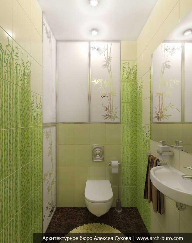 Зеленый цвет на фасадах