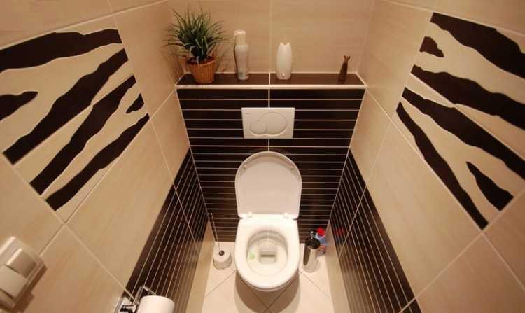 Туалет 1.5 кв.м дизайн фото в обоях