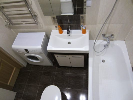 ванная комната 4 кв метра дизайн фото