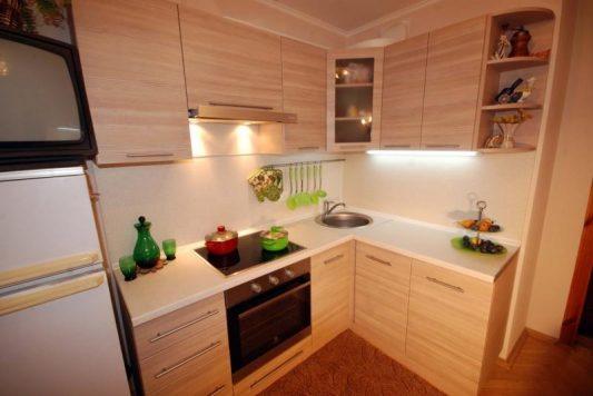 Кухни в маленьких квартирах: фото
