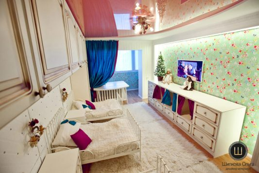 детская комната для девочки фото дизайн в квартире реальные