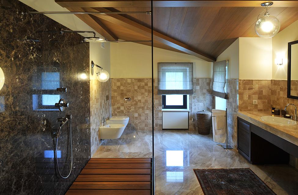 Фото санузел дизайн загородного дома