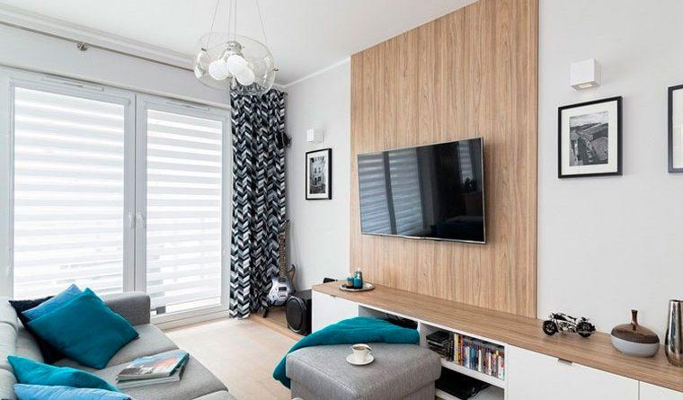 как расставить мебель в комнате 18 метров фото
