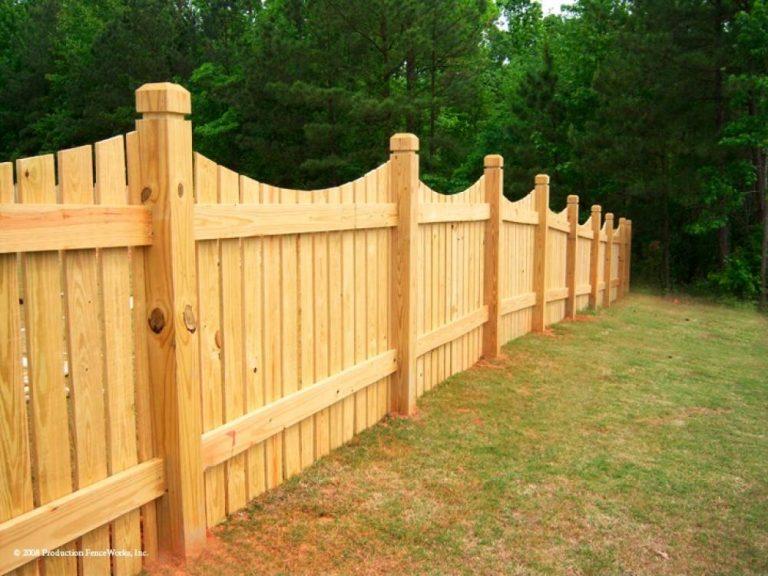 Забор из дюймовки своими руками 7