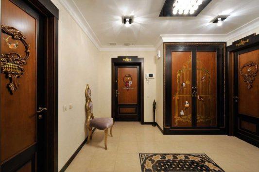 дизайн коридора в квартире фото реальные в панельном доме