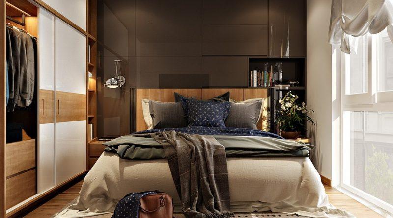Спальня в современном стиле реальные фотографии дизайн фото
