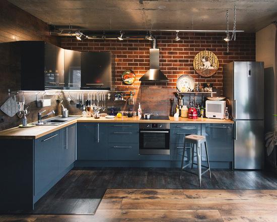 Кухня с стиле лофт своими руками 3